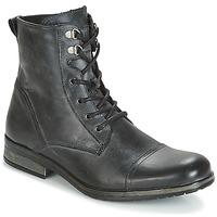Zapatos Hombre Botas de caña baja Casual Attitude RIBELLE Negro