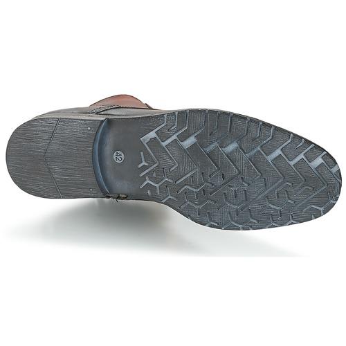 Los últimos zapatos de hombre y mujer Casual Attitude RIBELLE Negro - Envío gratis Nueva promoción - Zapatos Botas de caña baja Hombre