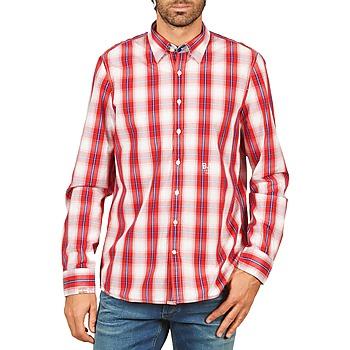 textil Hombre camisas manga larga Gaastra ECHO SOUNDING Rojo
