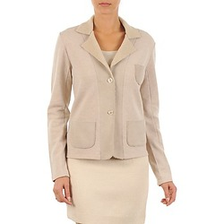 textil Mujer Chaquetas / Americana Majestic 244 Beige