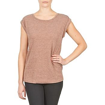 textil Mujer camisetas manga corta Color Block 3203417 Envejecido / Rosa / China / Gris