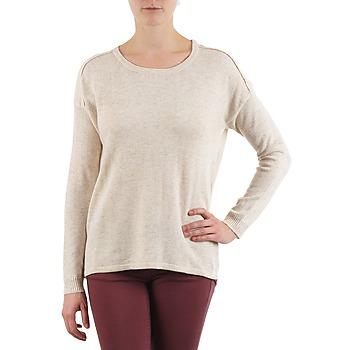 textil Mujer jerséis Color Block 3265194 Beige