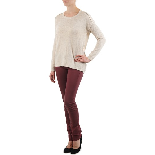 Beige Jerséis Mujer Textil Block Color 3265194 thrsQd