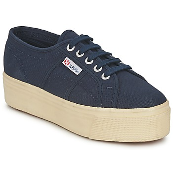 Zapatos Mujer Zapatillas bajas Superga 2790 LINEA UP AND Marino