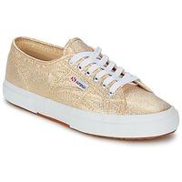 Zapatos Mujer Zapatillas bajas Superga 2751 LAMEW Oro