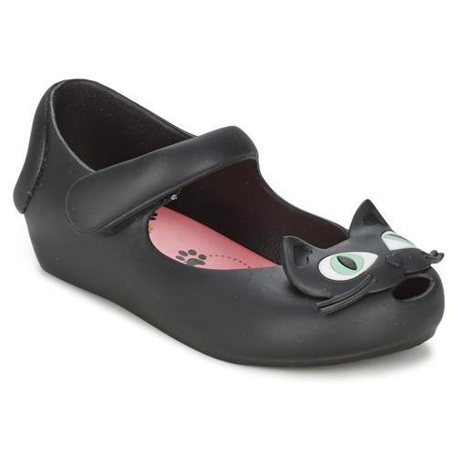 Zapatos Niña Bailarinas-manoletinas Melissa CHAT Negro