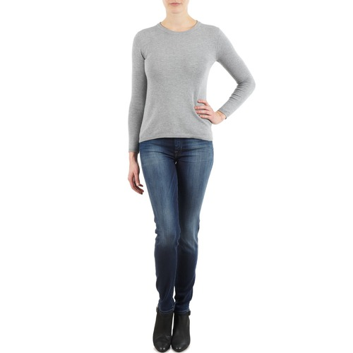 textil Mujer vaqueros slim 7 for all Mankind THE SKINNY NEW ORL FLAME Azul