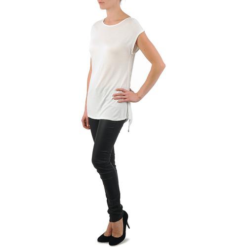 Manga City Blanco Crois Textil Mujer La Ts Corta D6 Camisetas yOvm8wPNn0