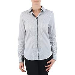 textil Mujer camisas La City OCHEMBLEU Gris