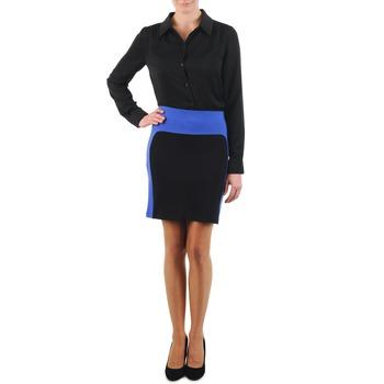 textil Mujer Faldas La City JMILBLEU Negro / Azul