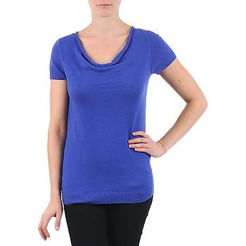 textil Mujer camisetas manga corta La City PULL COL BEB Azul