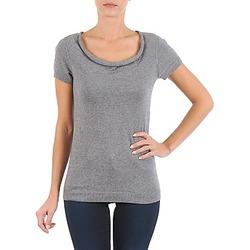 textil Mujer camisetas manga corta La City PULL COL BEB Gris