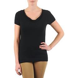 textil Mujer camisetas manga corta La City PULL COL BEB Negro