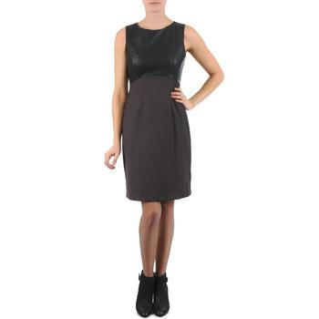 textil Mujer vestidos cortos La City RTANIA Negro / Gris