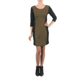 textil Mujer vestidos cortos La City ROKAMIL Kaki / Negro