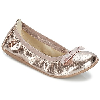 Zapatos Niña Bailarinas-manoletinas Le Temps des Cerises LILOU DORADO