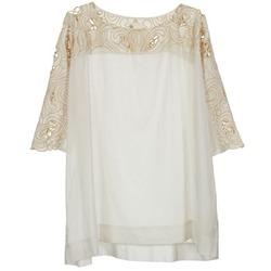 textil Mujer Tops / Blusas Stella Forest ATU030 Beige