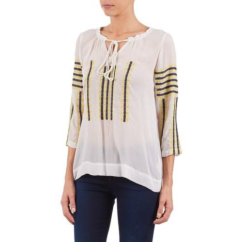 TopsBlusas Stella Blanco Gris Amarillo Textil Mujer Forest Atu025 0kPOX8wn