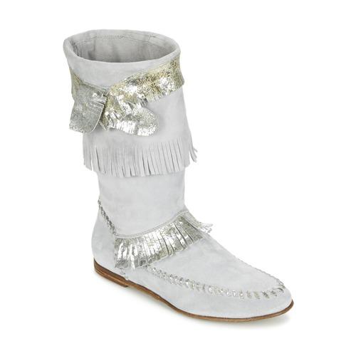 Zapatos promocionales Now MATELI Gris / Plateado  Casual salvaje