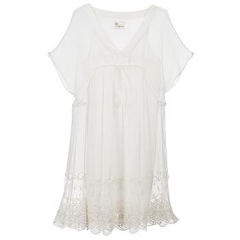 textil Mujer vestidos cortos Stella Forest ARO035 Crudo