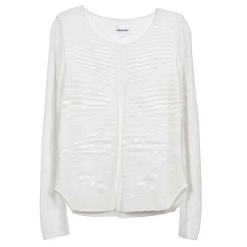 American Retro GEMMA Blanco - Envío gratis | ! - textil jerséis Mujer