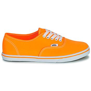 vans authentic naranja