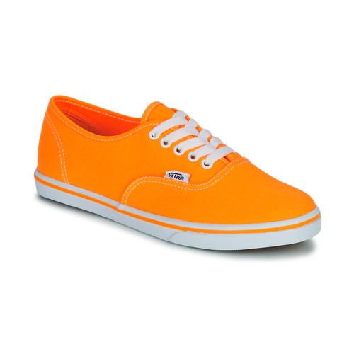 Zapatos Mujer Zapatillas bajas Vans AUTHENTIC LO PRO Naranja / Pop
