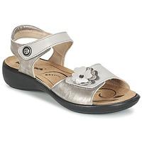 Zapatos Mujer Sandalias Romika IBIZA 67 Plateado