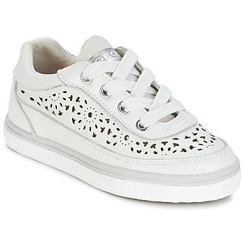 Zapatos Niña Zapatillas bajas Geox CIAK G. H Blanco