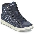 Zapatos Niña Zapatillas altas Geox CREAMY B Marino
