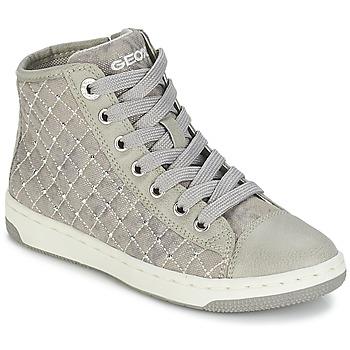 Zapatos Niña Zapatillas altas Geox CREAMY B Gris