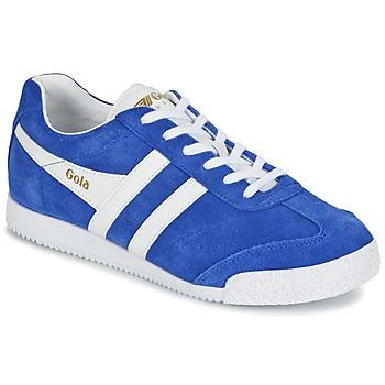 Zapatos Mujer Zapatillas bajas Gola HARRIER Azul / Blanco