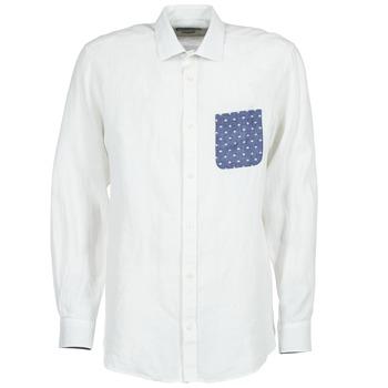 textil Hombre camisas manga larga Serge Blanco CHACA Blanco