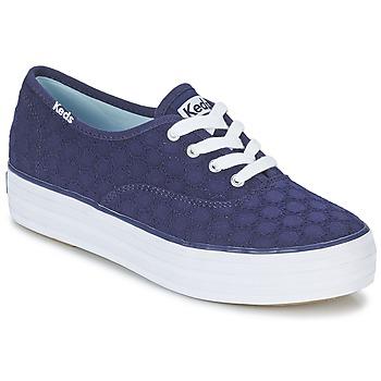 Zapatos Mujer Zapatillas bajas Keds TRIPLE EYELET Marino