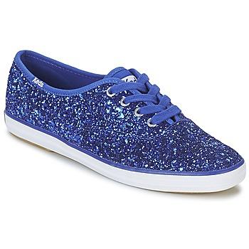 Zapatos Mujer Zapatillas bajas Keds CHAMPION GLITTER Azul