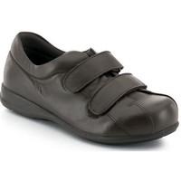 Zapatos Mujer Zapatillas bajas Calzamedi VELCRO UNISEX PIE DIABETICO MARRON