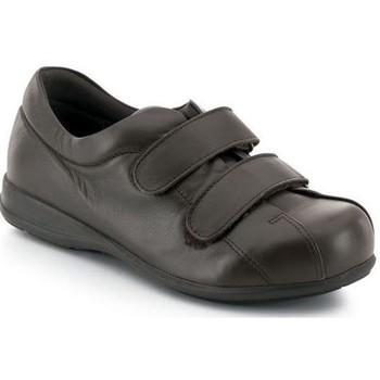 Zapatos Mujer Zapatillas bajas Calzamedi ZAPATOS   VELCRO UNISEX PIE DIABETICO MARRON