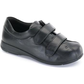 Zapatos Mujer Botas de caña baja Calzamedi S   PIE DIABETICO NEGRO