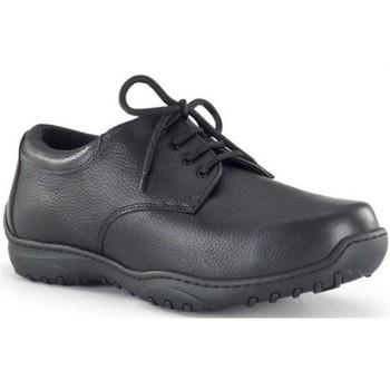Zapatos Hombre Richelieu Calzamedi S  DIABETICO M NEGRO