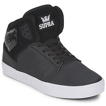 Zapatos Hombre Zapatillas altas Supra ATOM Negro / Blanco