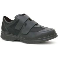 Zapatos Hombre Derbie Calzamedi S  DOBLE  DIABETICO H NEGRO