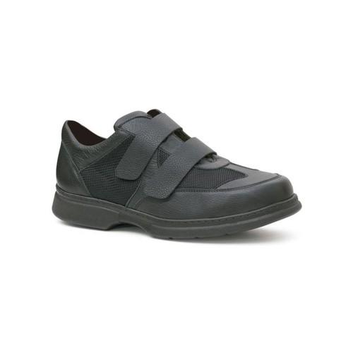 Zapatos Hombre Derbie Calzamedi ZAPATO DOBLE VELCRO COMODO DIABETICO H NEGRO