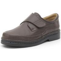 Zapatos Hombre Derbie Calzamedi S  CON  COSIDO A H MARRON
