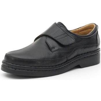 Zapatos Hombre Derbie Calzamedi S  CON  COSIDO A H NEGRO