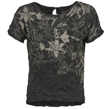textil Mujer camisetas manga corta Oxbow NIANA Negro