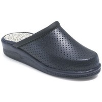 Zapatos Zuecos (Clogs) Calzamedi ZUECO ANATOMICO COMODO UNISEX MARINO