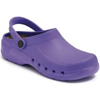 Zapatos Zuecos (Clogs) Calzamedi SANITARIO PVC Y ANATOMICO MORADO
