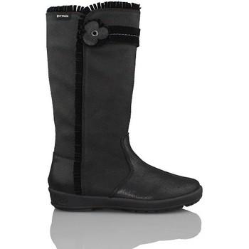 Zapatos Niña Botas de caña baja Biomecanics GARVALIN A-ORLANDO BOTA CHICA COMODA NEGRO