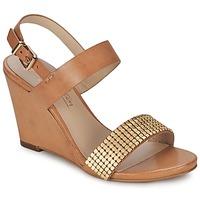 Zapatos Mujer Sandalias JB Martin 1OLE Camel / Dorado