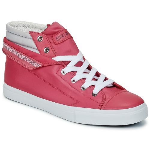 Zapatos Mujer Zapatillas altas Bikkembergs PLUS 647 Pink / Gris